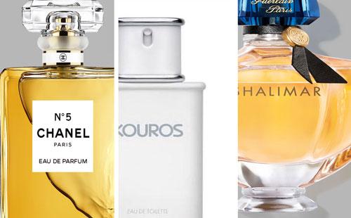 Rubrique Parfums de légende