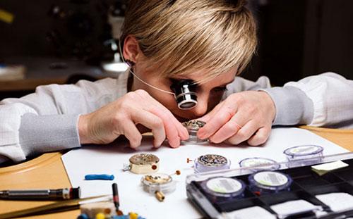 Rubrique Fabrication et métiers de l'horlogerie
