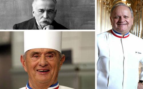 Rubrique Restaurants : chefs cuisiniers - légende