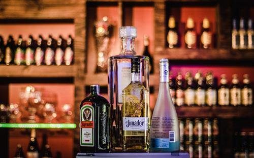 Rubrique Boissons alcoolisées spiritueux