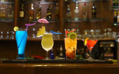 Rubrique Boissons : Cocktails avec alcool